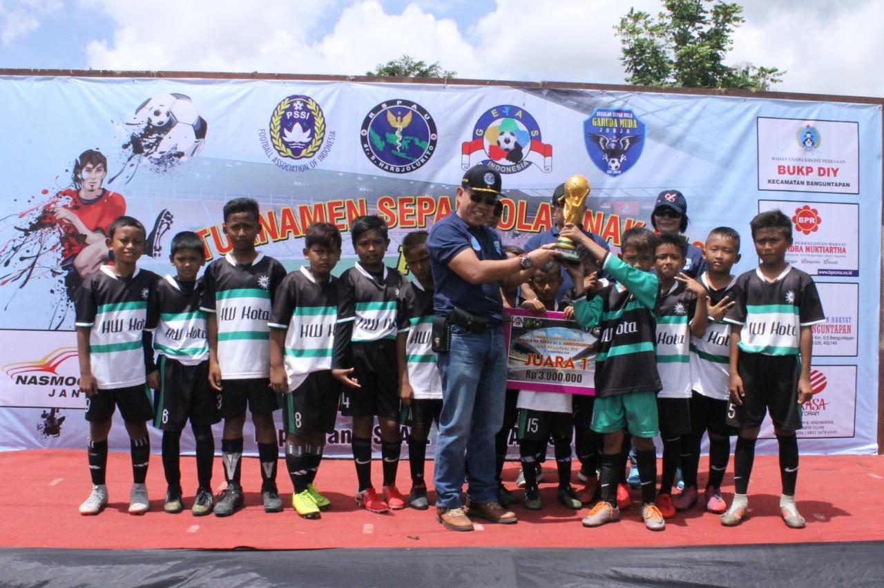 RSPAU Dr. S. Hardjolukito Gelar Festifal Sepak Bola U-10