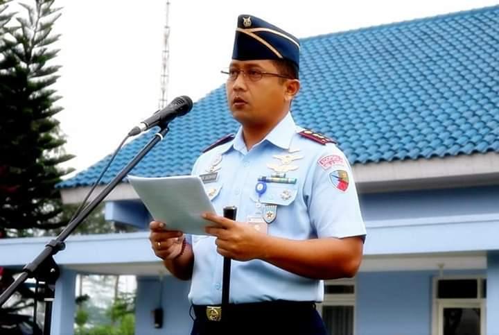 Personel Lanud J.B. Soedirman Melaksanakan Apel Khusus Menyambut Tahun Baru 2019