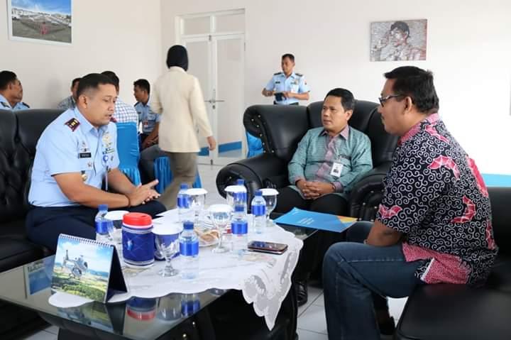 PT Angkasa Pura II Melaksanakan Kunjungan ke Lanud J.B. Soedirman