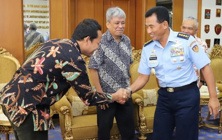 Luncurkan PRTV, Grup Pikiran Rakyat Silaturahmi ke Mabesau