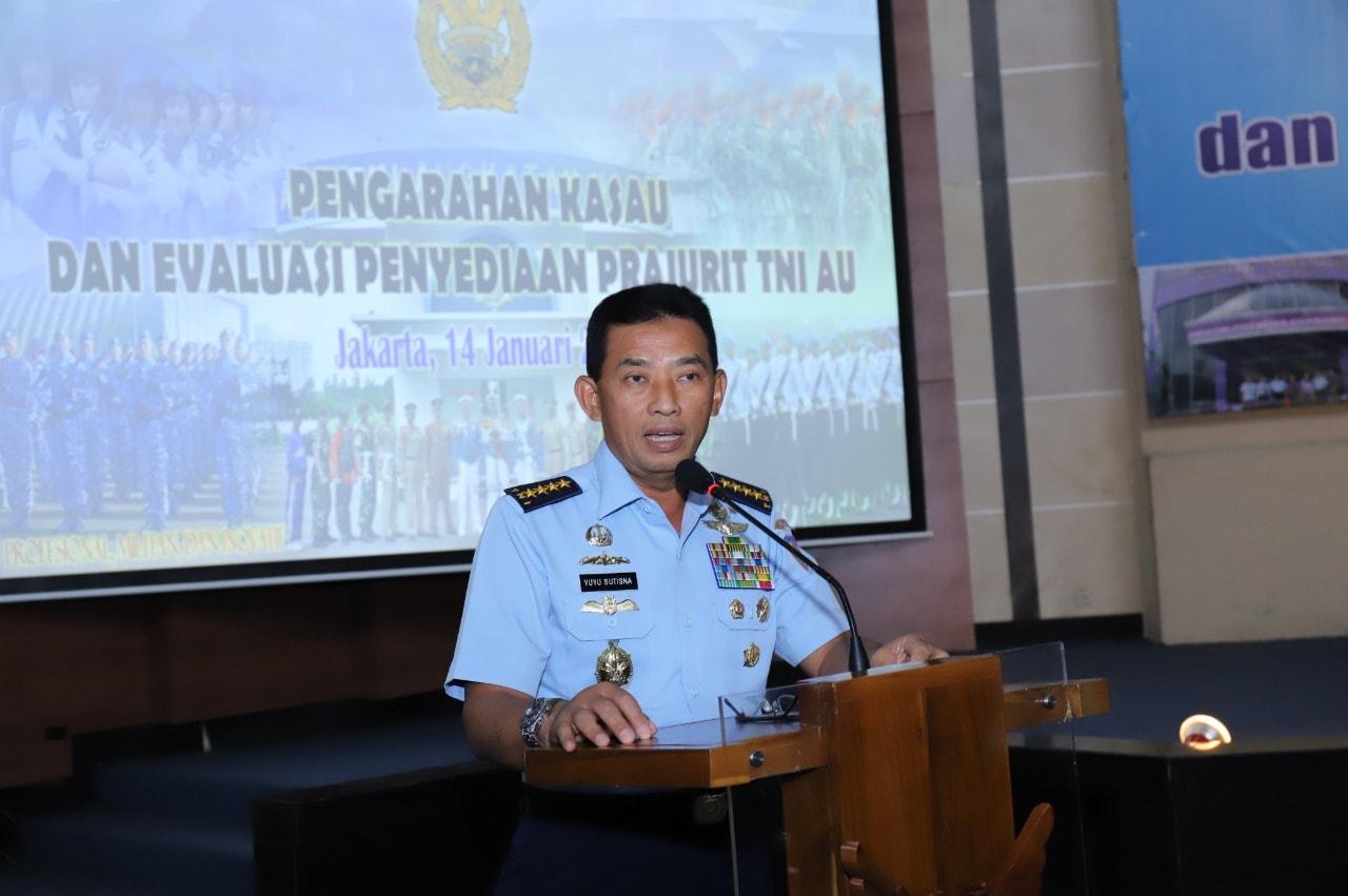 Evaluasi Rekrutmen TNI AU 2018, Kasau: Kredibilitas Personel, Cetak Prajurit Andal