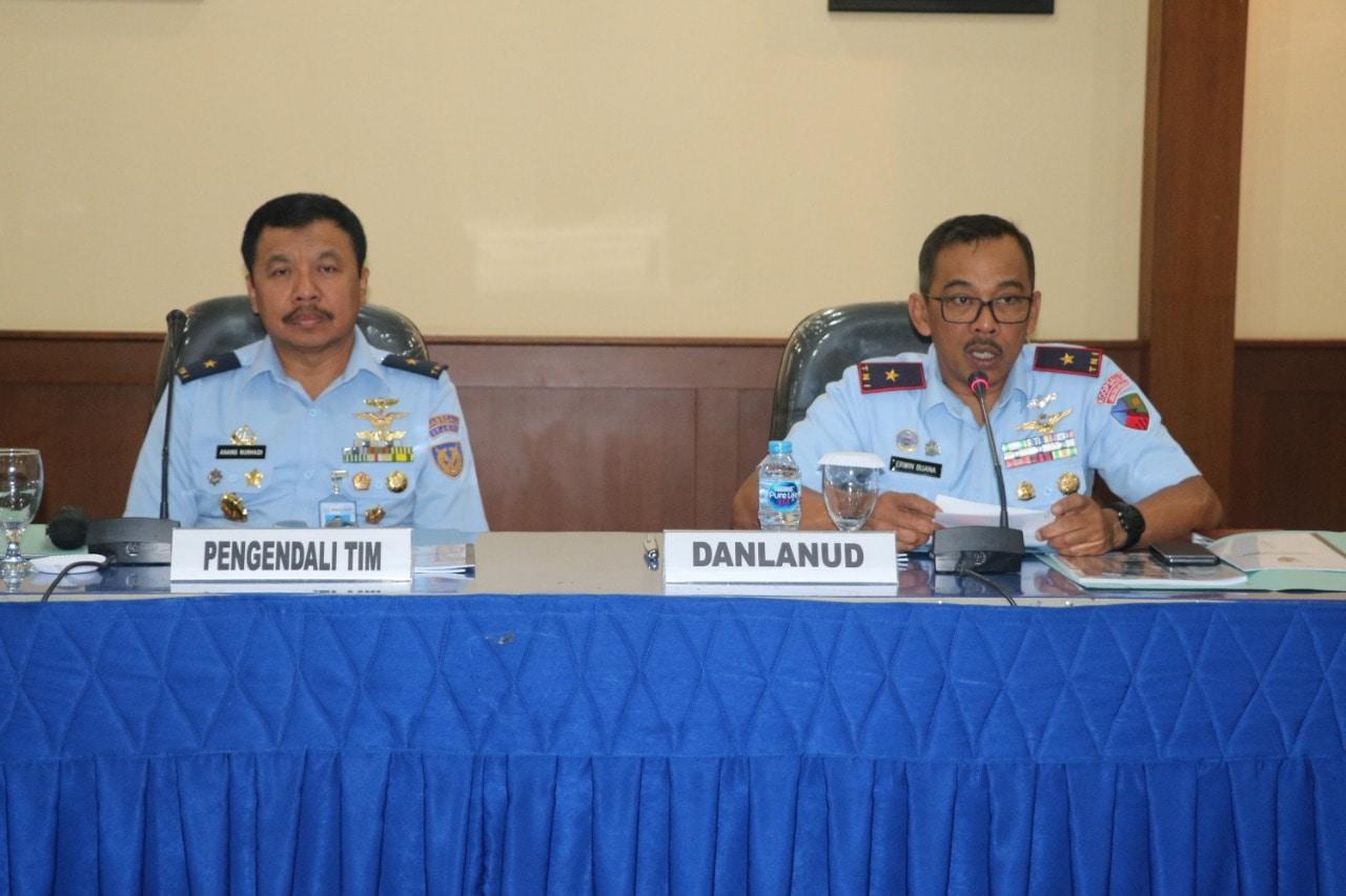 Entry Briefing Wasrikkap Itjenau di Lanud Atang Sendjaja