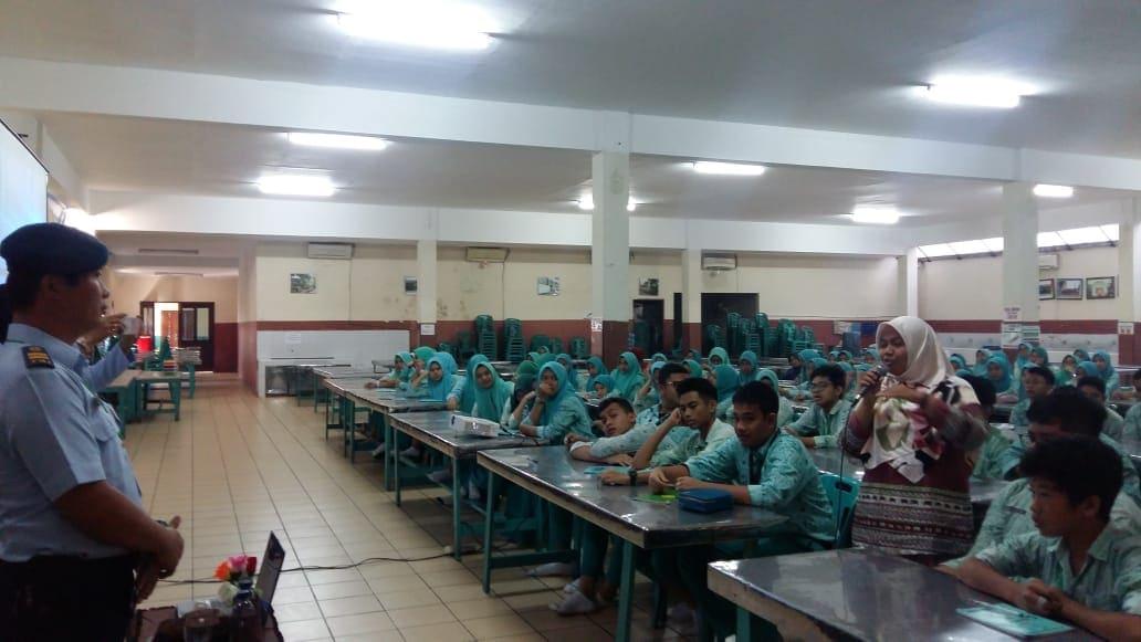 Lanud Soewondo Sosialisasikan SMA Pradita Dirgantara di Medan