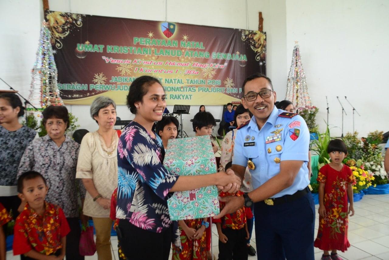 Perayaan Natal Bersama Tahun 2018 di Lanud Atang Sendjaja