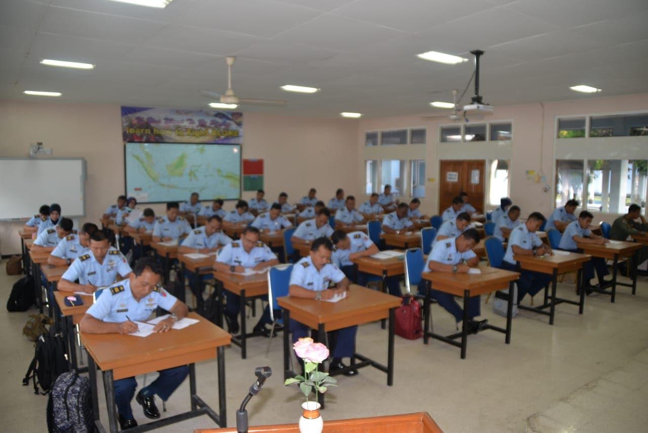 39 Perwira Ikuti Ujian P2BS di Lanud Adisutjipto