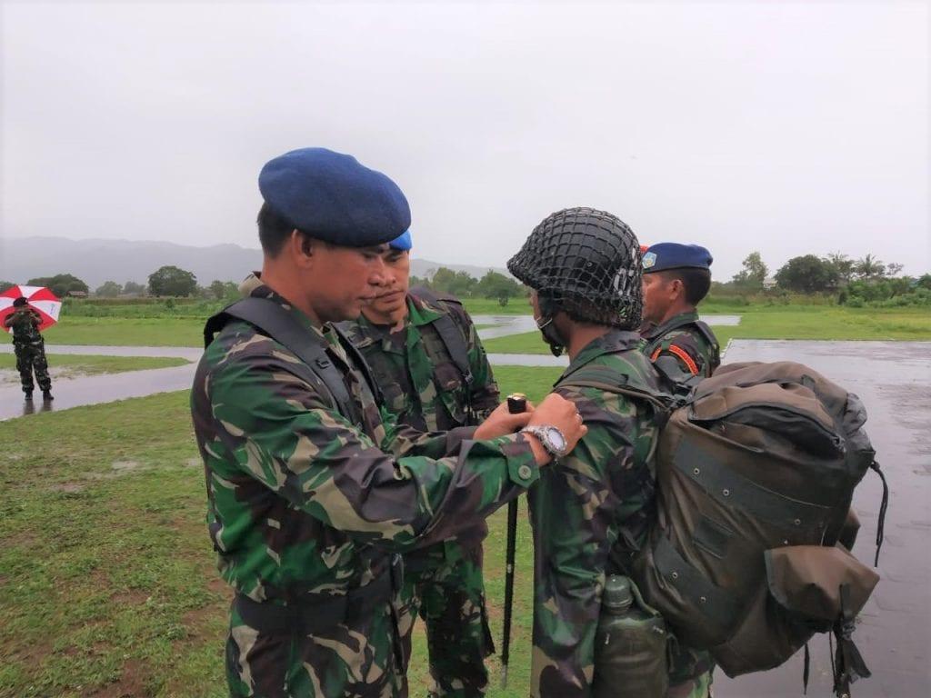 Komandan Lanud Smo Tutup Latganda Semaba PK Pria TNI AU A-43