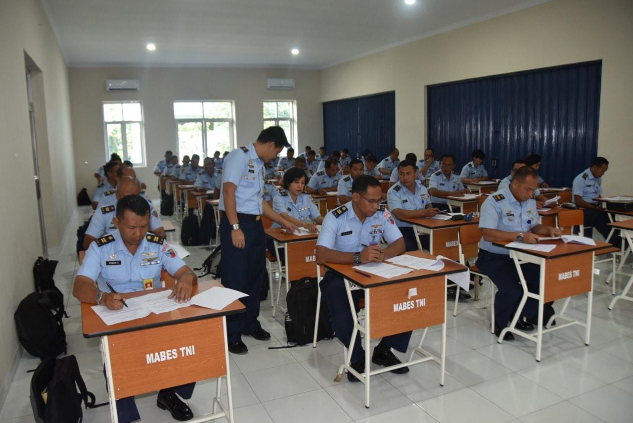 47 Personel TNI AU Ujian P2BS di Lanud Husein Sastranegara