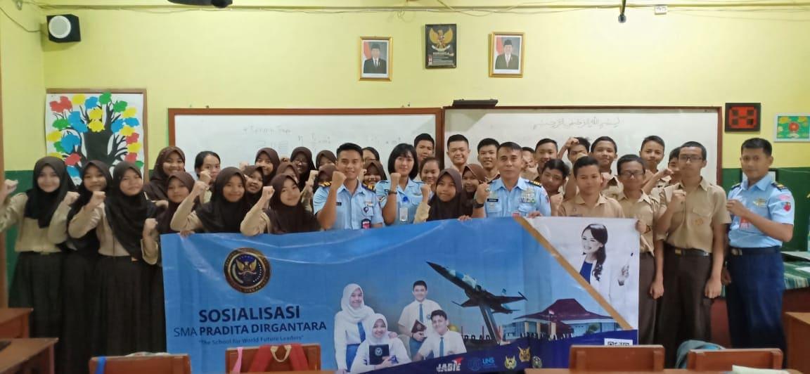 Lanud Ats Sosialisasi SMA Pradita Dirgantara ke Sekolah-Sekolah Unggulan di Bogor