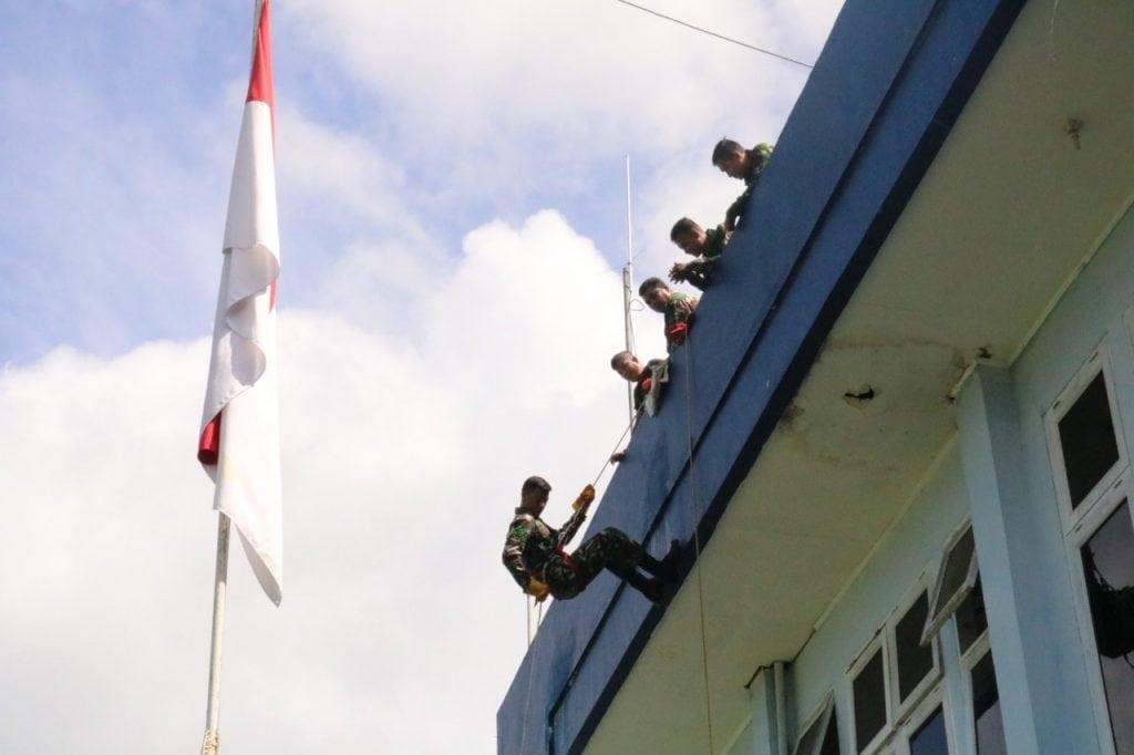 Lanud Sam Ratulangi Melaksanakan Minggu Militer
