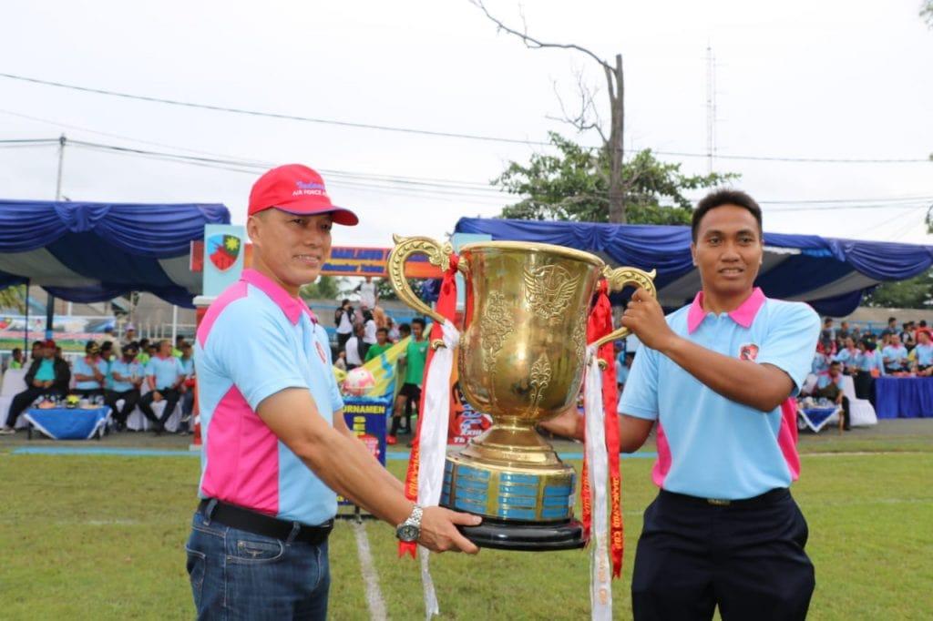 50 Tim Sepak Bola Mulai Berlaga di Danlanud Cup XXIII 2019