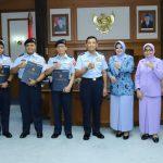 Kasau Terima Laporan Kenaikan Pangkat Empat Pati TNI AU