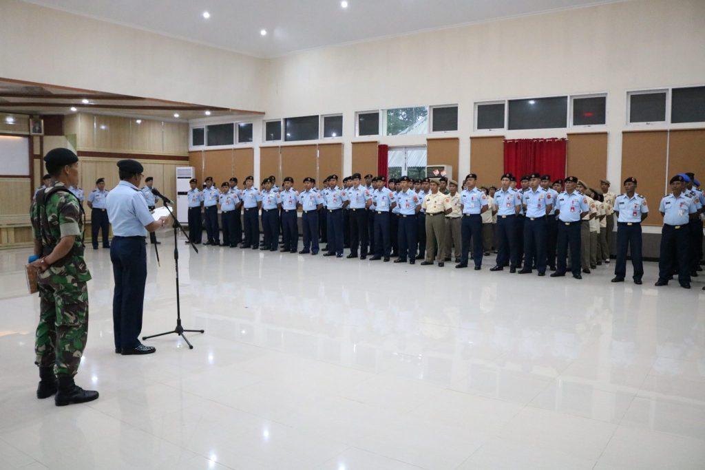 Pangkosekhanudnas II Pimpin Apel Kusus Awal Tahun 2019