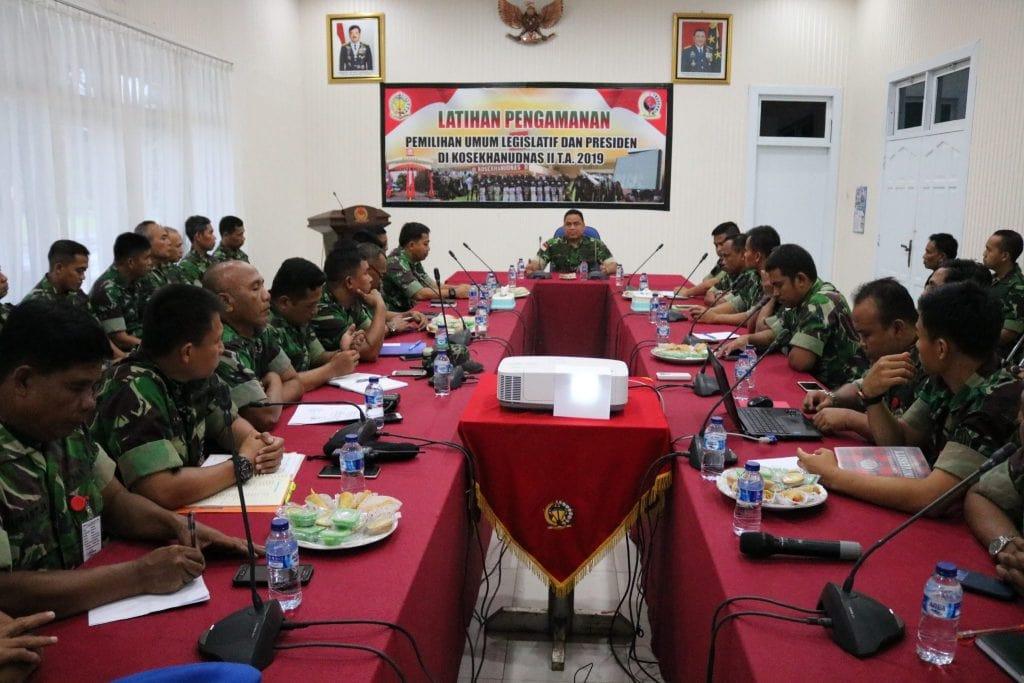 Kosekhanudnas II, Siap Berperan Aktif Sukseskan Pemilu dan Netralitas