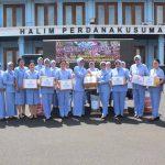 PIA AG. Gabungan IV Korpaskhas Berikan Bantuan Korban Tsunami Banten