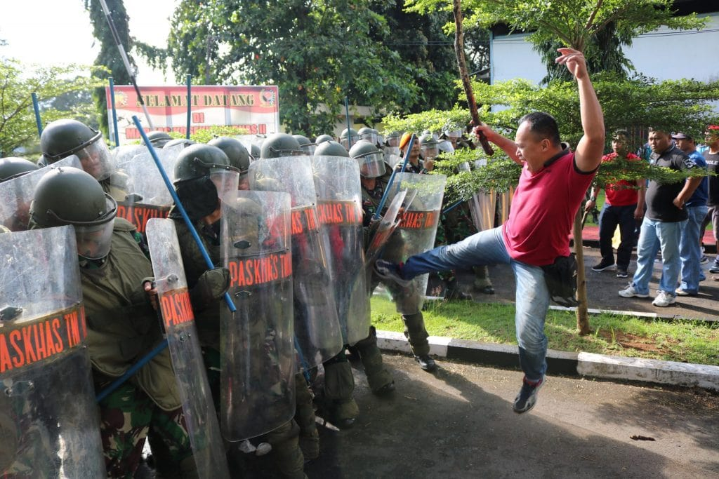 Kosekhanudnas II Latihan Pengamanan Pemilu Legislatif dan Presiden Tahun 2019