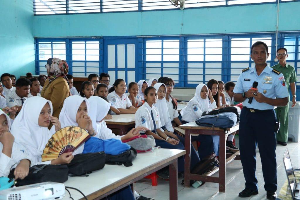 Sosialisasi SMA Pradita Dirgantara di Merauke