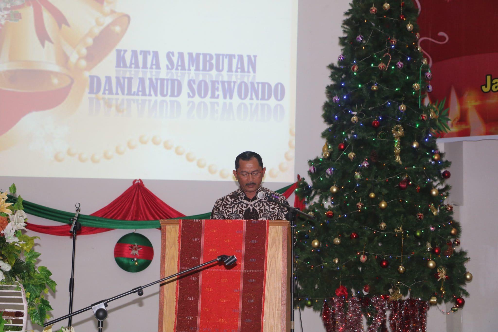 TNI AU se-Kota Medan Merayakan Natal dan Tahun Baru