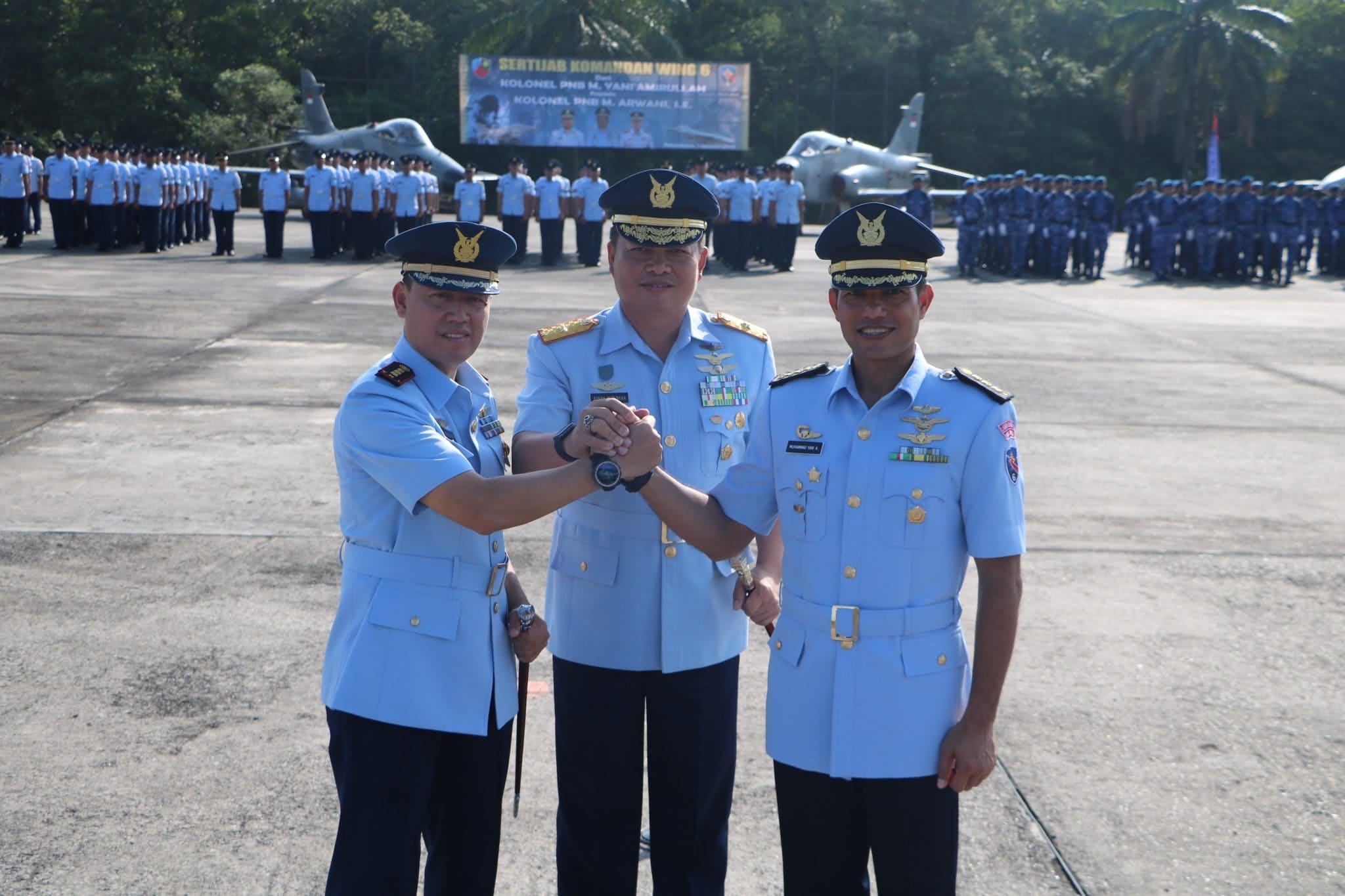 Kolonel Pnb M. Arwani, S.E Jabat Danwing 6 Lanud Rsn