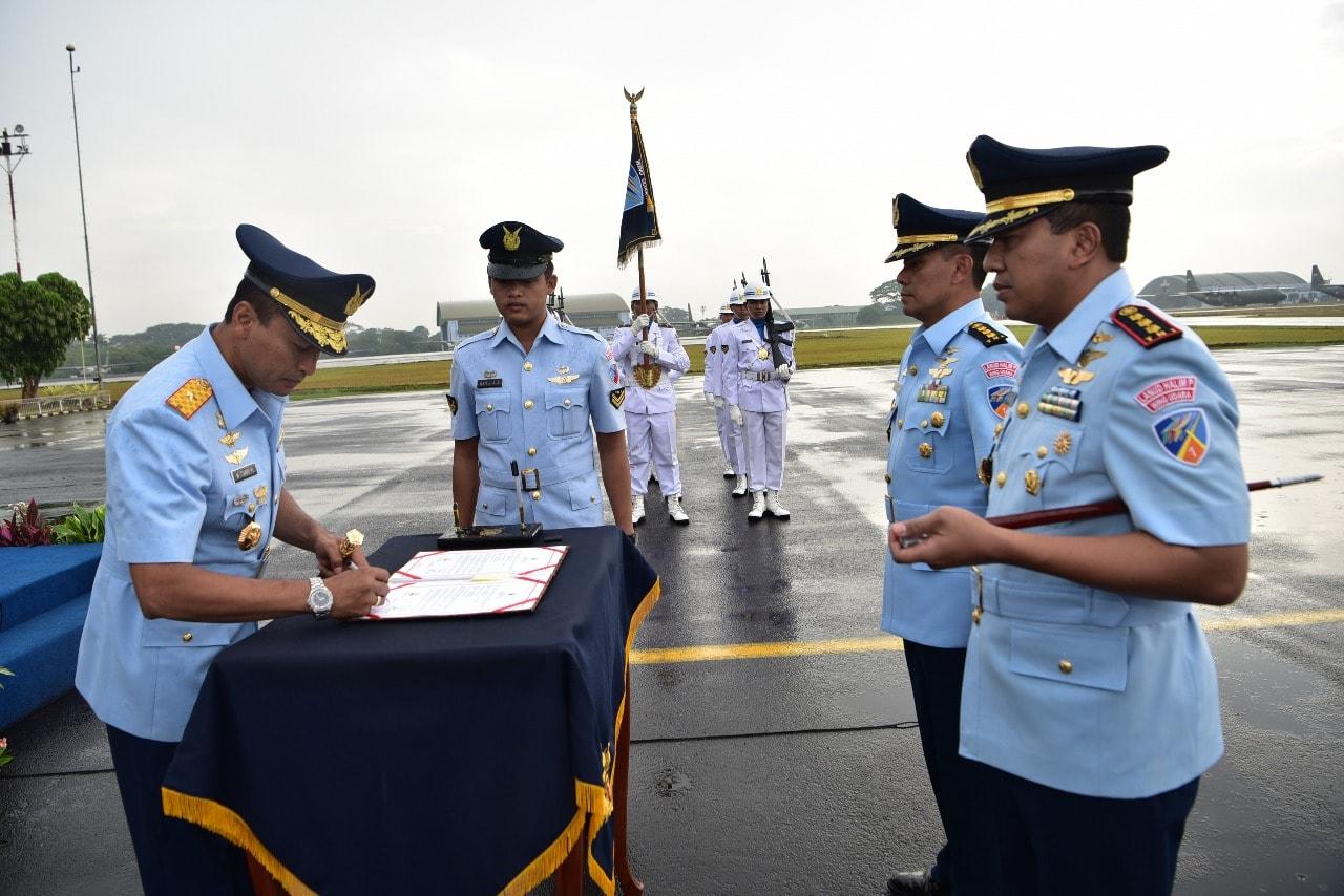 Komandan Wing Udara 1 Lanud Halim Perdanakusuma Diserahterimakan