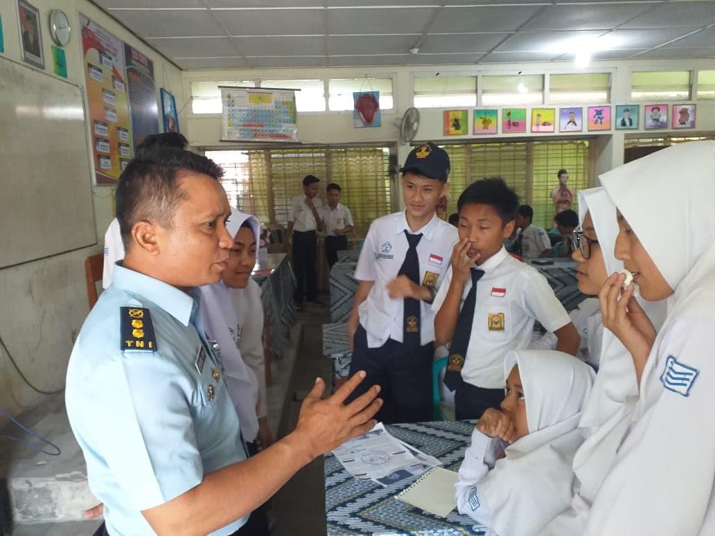 SMA Pradita Dirgantara Dibuka TNI AU Lanud Sutan Sjahrir Sosialisasikan.