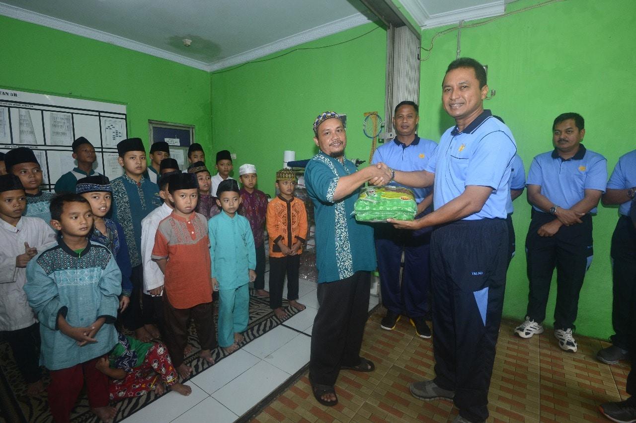 Jaga Silahturahmi, Komandan Lanud Halim Perdanakusuma Kunjungi Panti Yauma