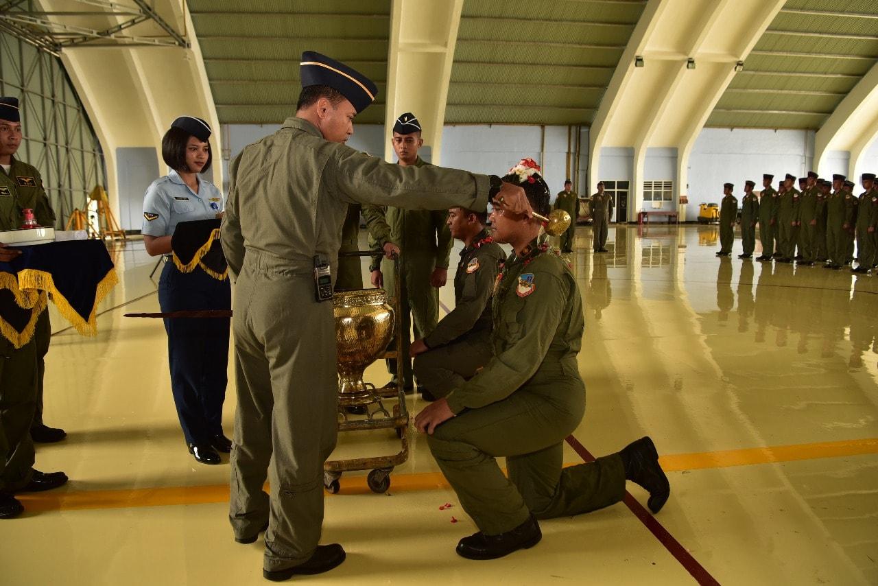 Danskadron Udara 17 Lanud Halim Perdanakusuma Sematkan Kencana Number