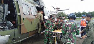 Pangkoopsau II Perintahkan Evakuasi Pasien Musibah Banjir