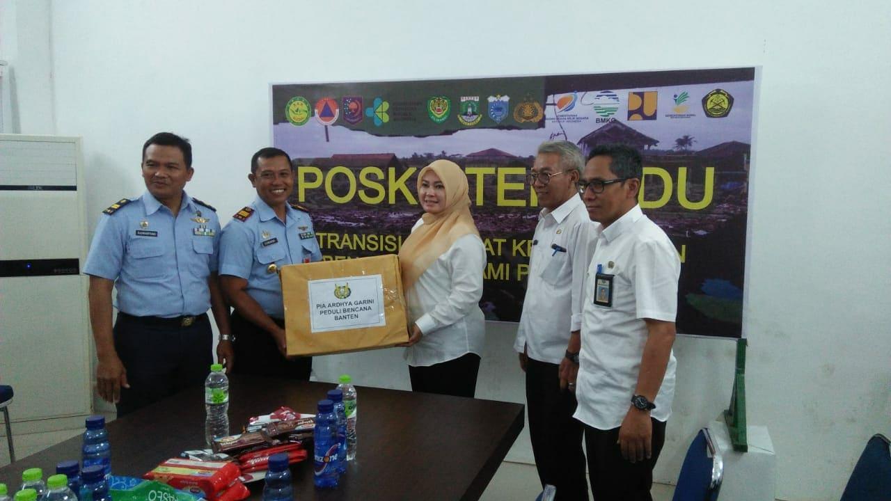 PIA AG Serahkan Bantuan Kemanusiaan Korban Tsunami di Banten