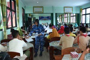 Lanud Pangeran M. Bun Yamin Mensosialisasikan SMA Pradita Dirgantara ke SMP Se-Provinsi Lampung