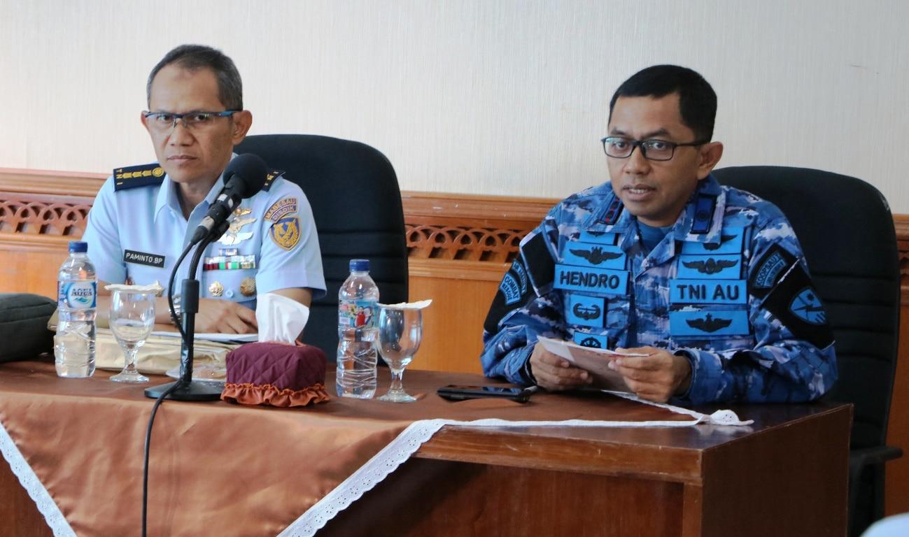 Sesdisdikau Pimpin Ujian P2BS di Lanud Sultan Iskandar Muda