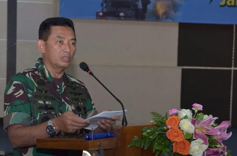 Pengadaan Barang/Jasa Mabesau TA. 2019 Kasau: Proses Pengadaan Harus Transparan dan Akuntabel