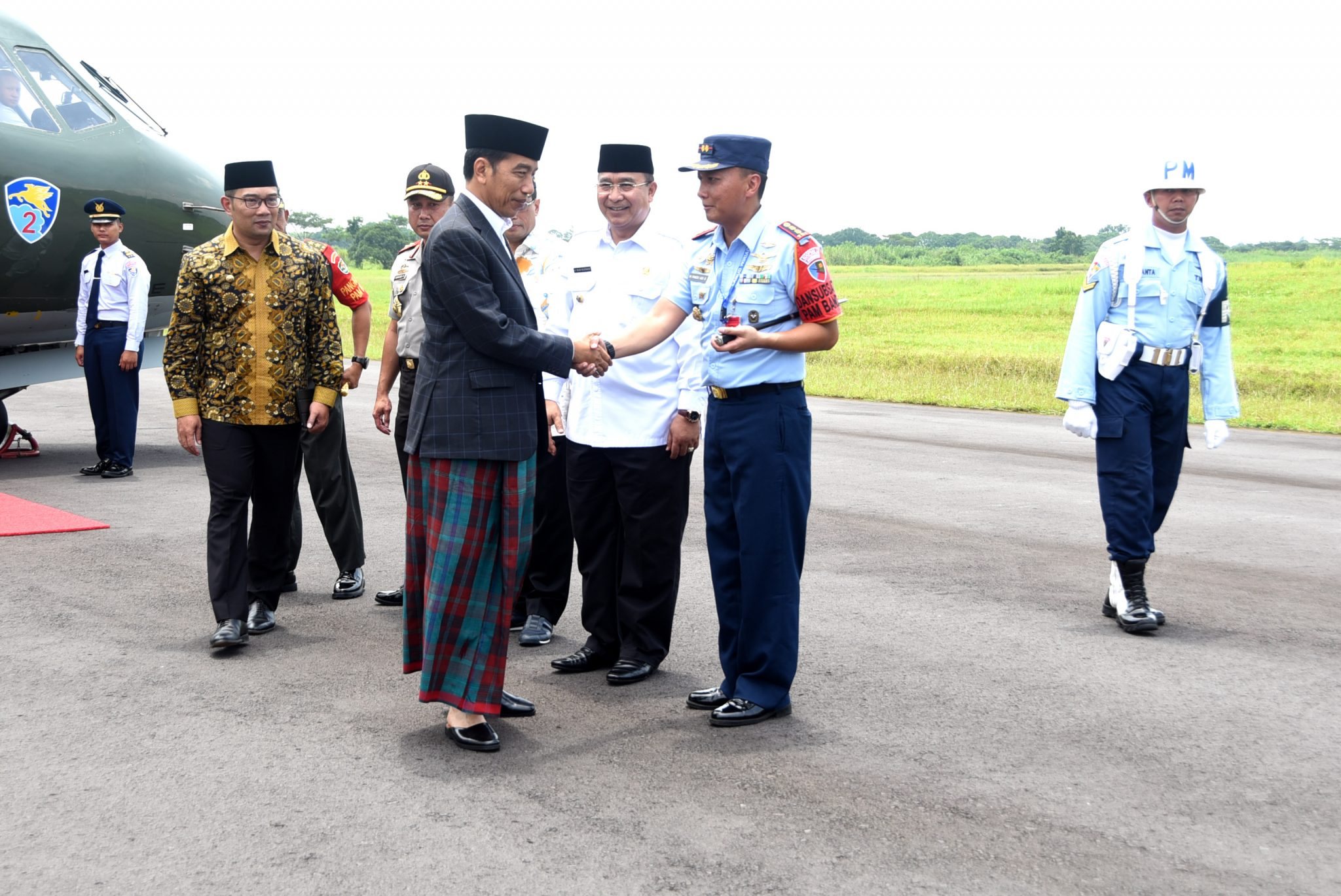 Presiden RI Ir. H. Joko Widodo Resmikan Terminal Penumpang Bandar Udara Wiriadinata
