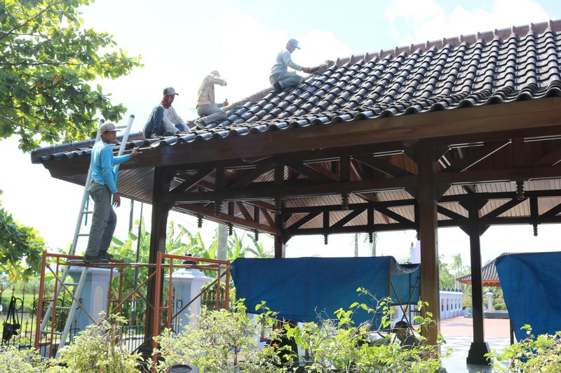 Muspusdirla Renovasi Makam Pendahulu TNI AU