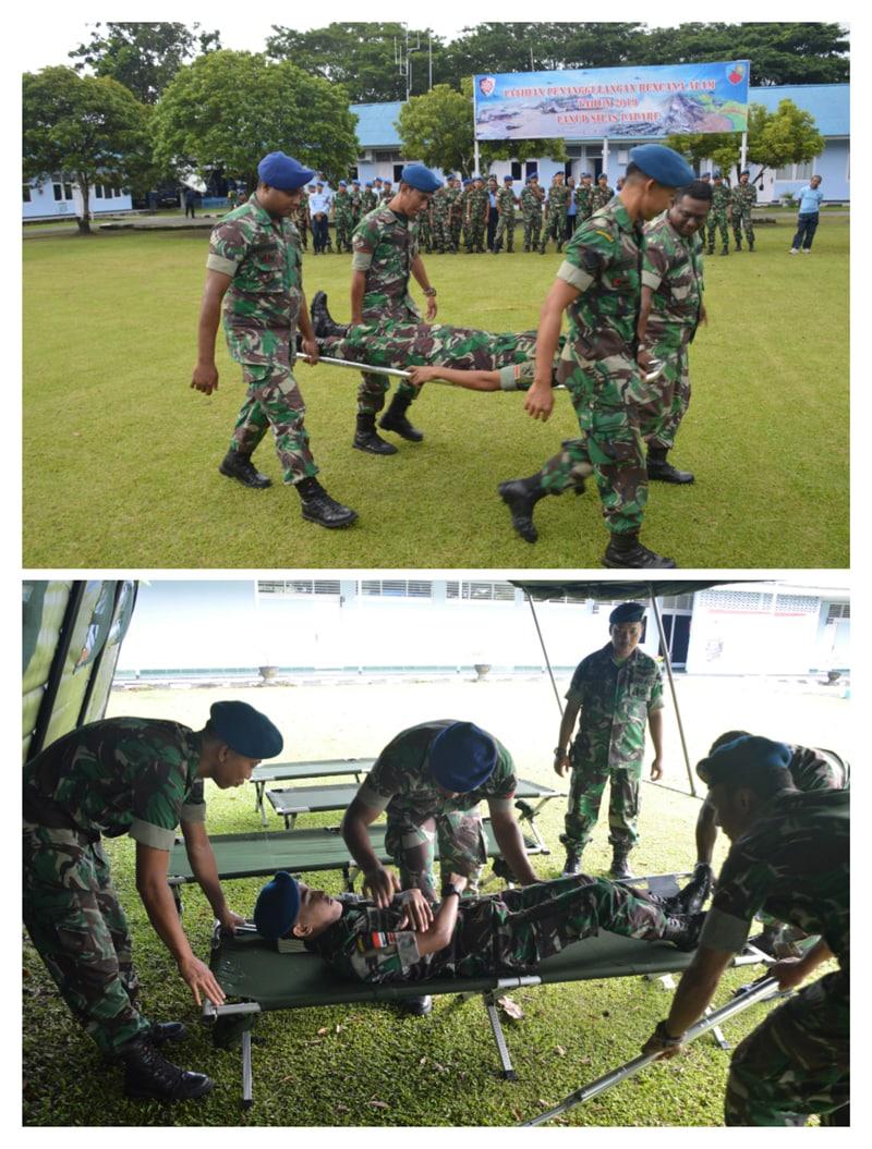 Gelar Latihan Penanggulangan Bencana