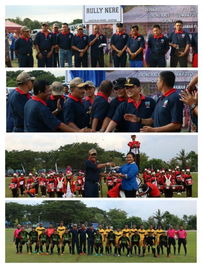 Turnamen Terbuka Danlanud Cup I Lanud Silas papare Sentani, Jayapura