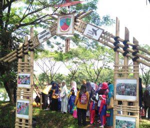 Ratusan Murid TK Banjiri Lanud Wiriadinata
