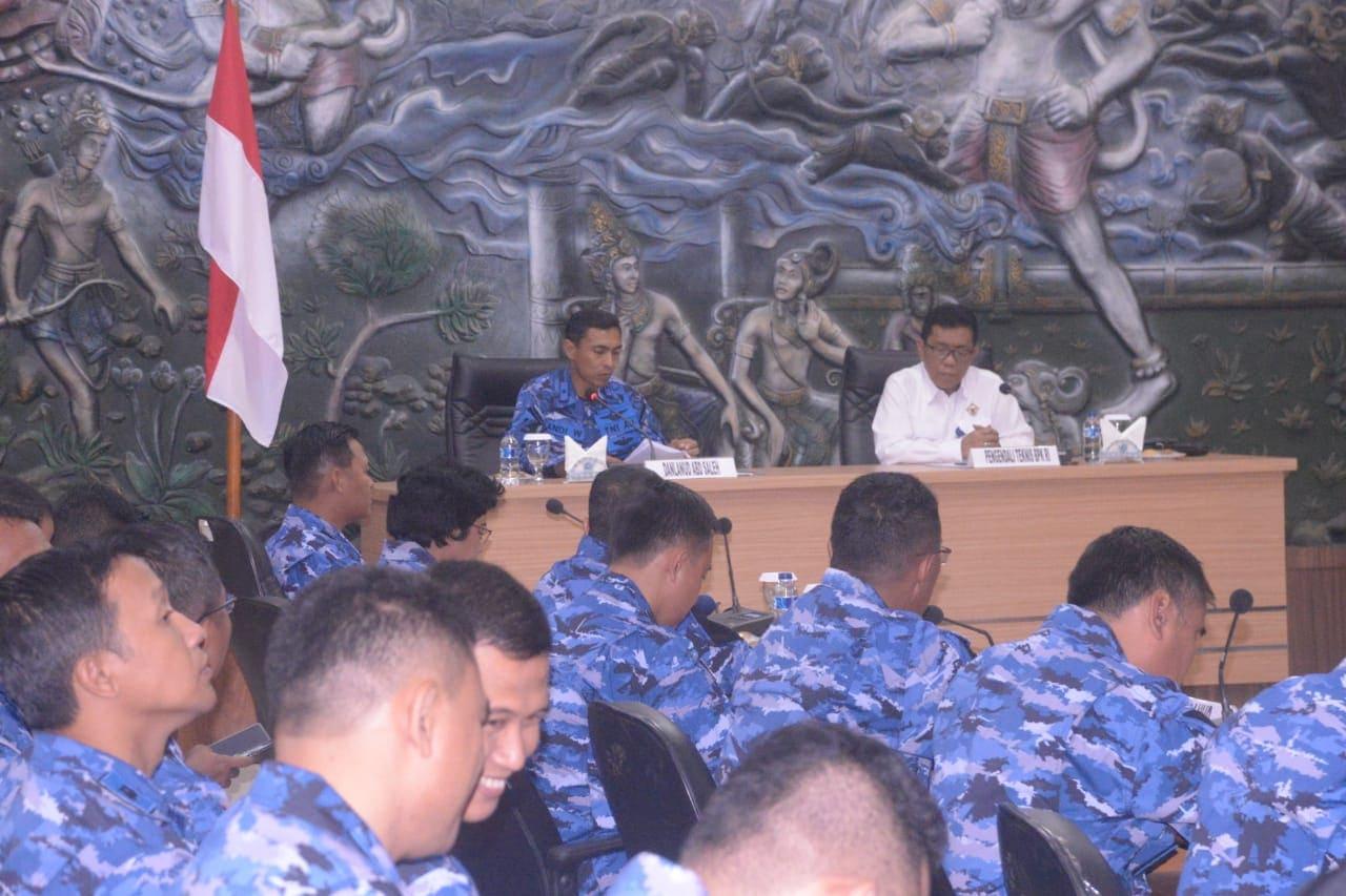 Lanud Abd Saleh Terima Kunjungan Kerja Tim BPK RI