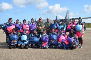 Siswa-Siswi Sekolah Angkasa Kunjungi Lanud El Tari