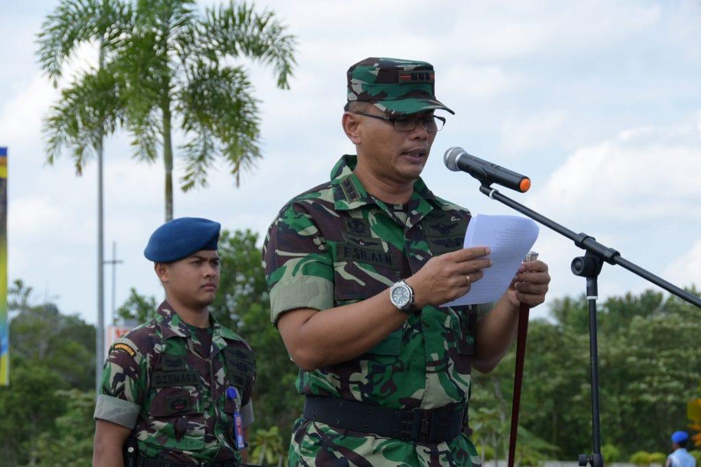 Jelang Pemilu 2019, Lanud Rhf Tingkatkan Kualitas Pengamanan dengan Latihan PHH