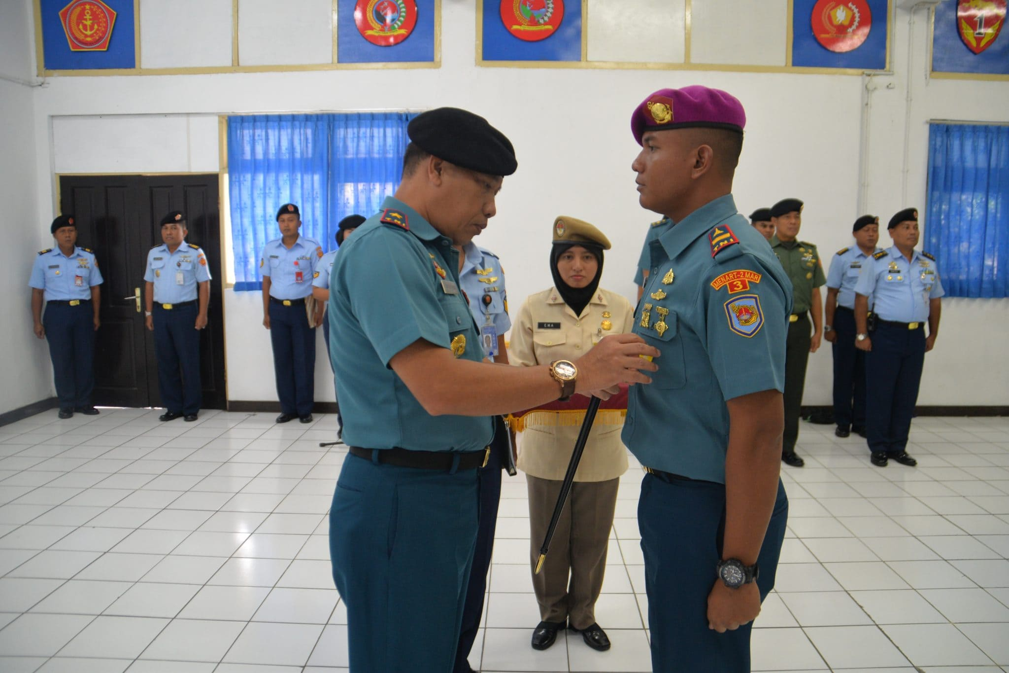 Danpusdikbangspes Kodiklat TNI Buka Pendidikan Suspa Hanud Pasif XII