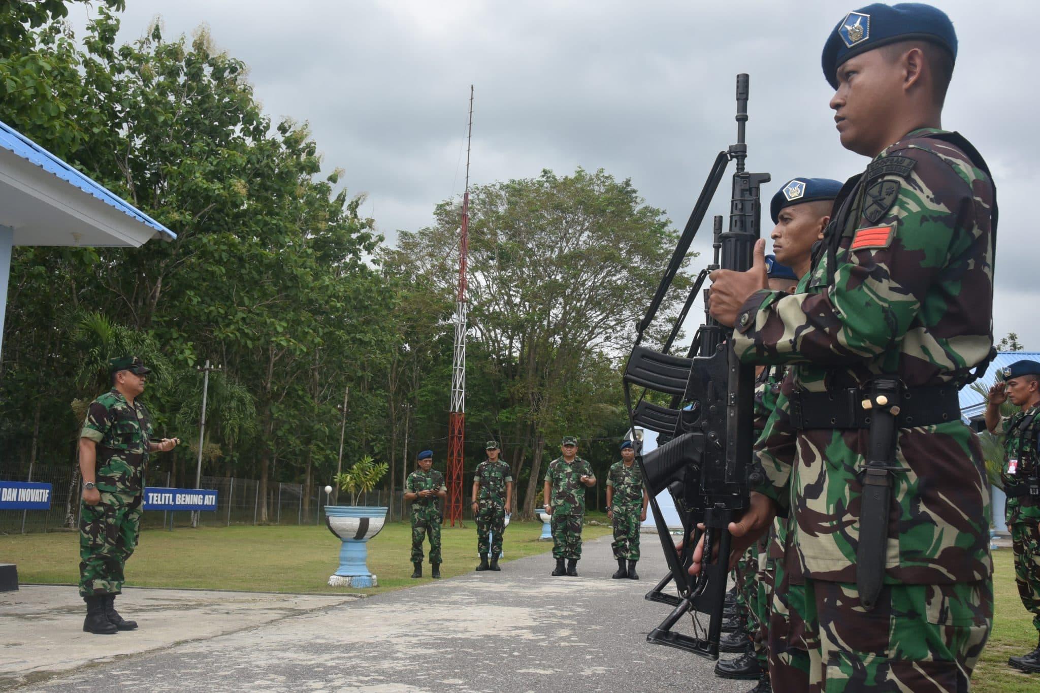 Kunjungan Kerja Pangkoopsau II di Lanud Haluoleo Kendari