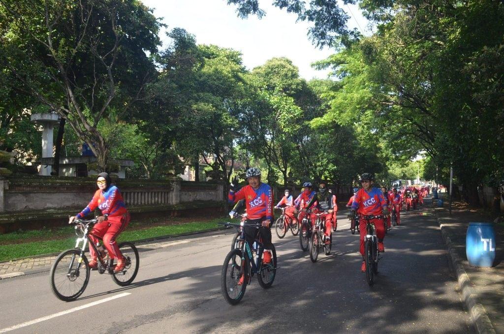 Gowes Perdana Bersama, Kohanudnas Cycling Club