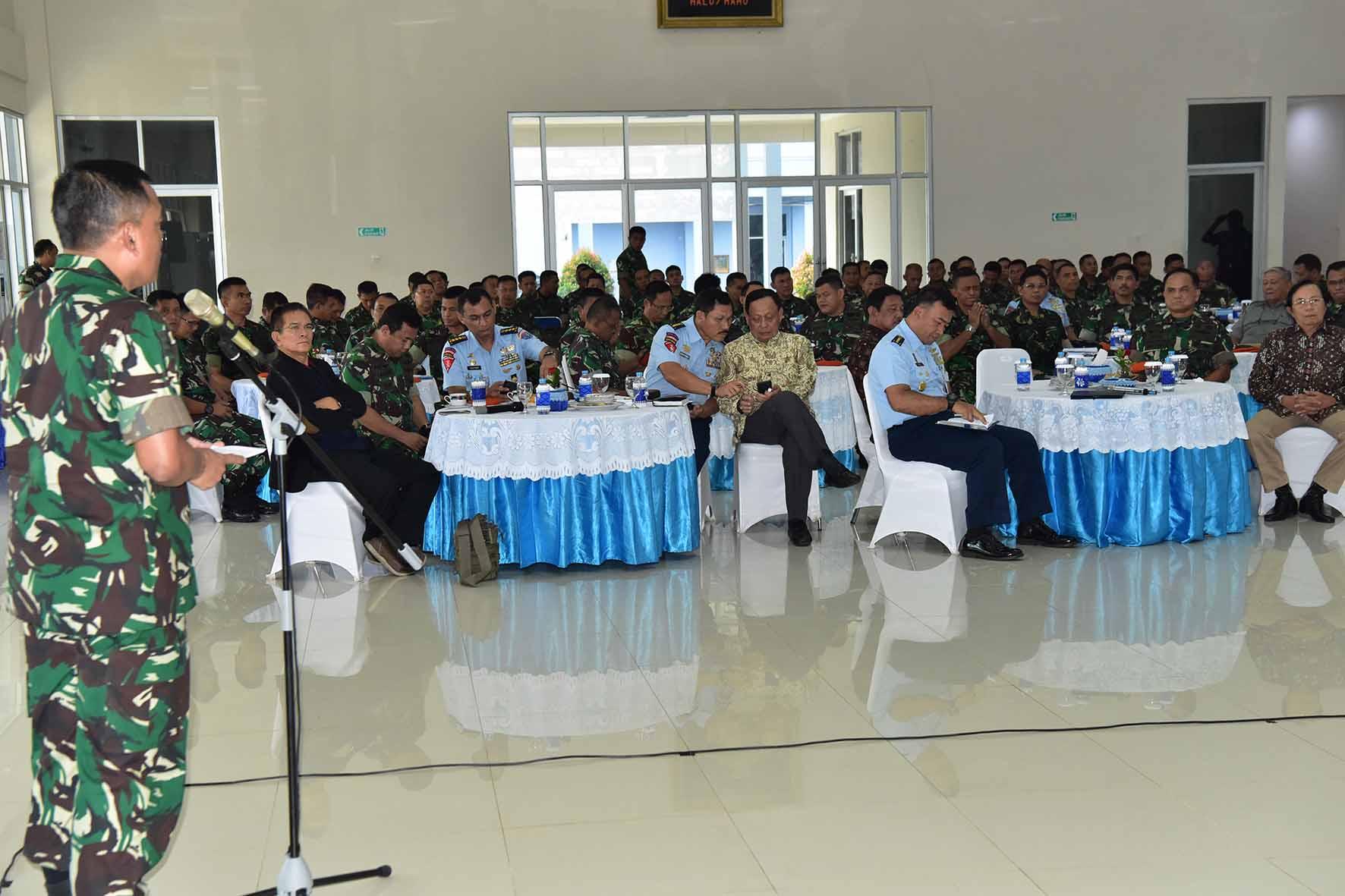 Sarasehan Korpaskhas Forum Komunikasi Sesepuh dengan Prajurit Korpaskhas