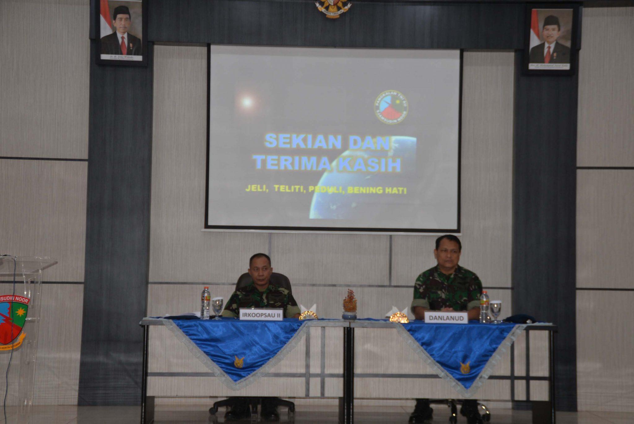 Pengawasan Dan Pemeriksaan Irkoopsau II di Lanud Sjamsudin Noor