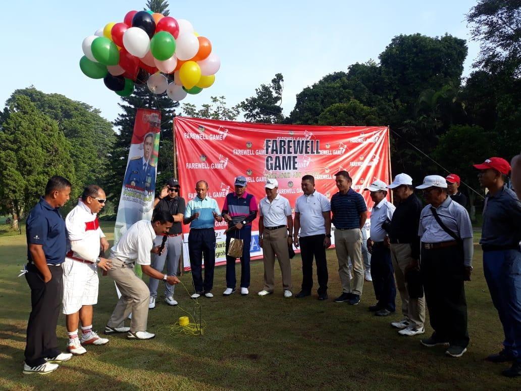 Golf Farewell Game, Simbol Akhiri Masa Jabatan Danlanud Abd Saleh