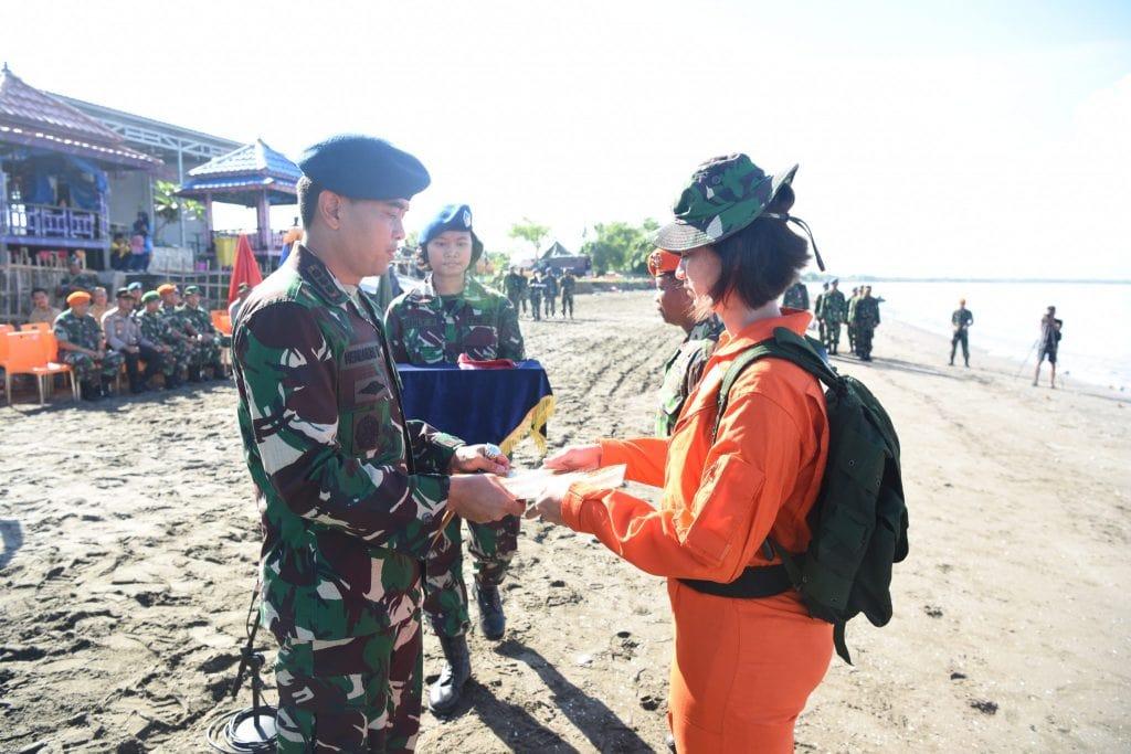 Latihan Survival Dasar Lanud Sultan Hasanuddin Resmi Ditutup