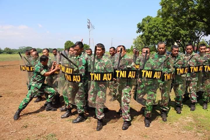 Personel Lanud J.B. Soedirman Laksanakan Latihan Drill PHH