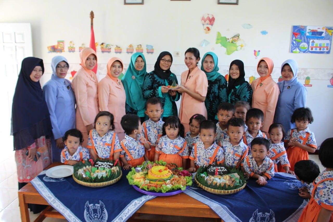 Syukuran 1 Tahun PAUD Terpadu Angkasa Lanud J.B Soedirman
