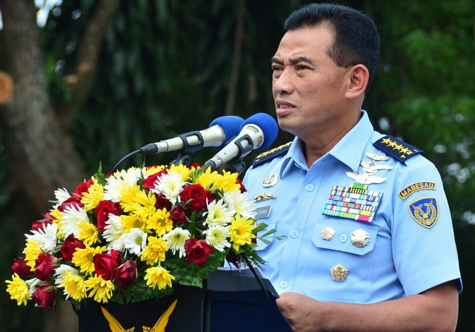 Kenang Perjuangan Kesatria TNI AU, Kasau Resmikan Monumen Pesawat F-5 Tiger