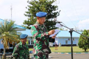 Upacara Penutupan Latihan Pengamanan Pileg dan Pilpres 2019 di Lanud Dhomber